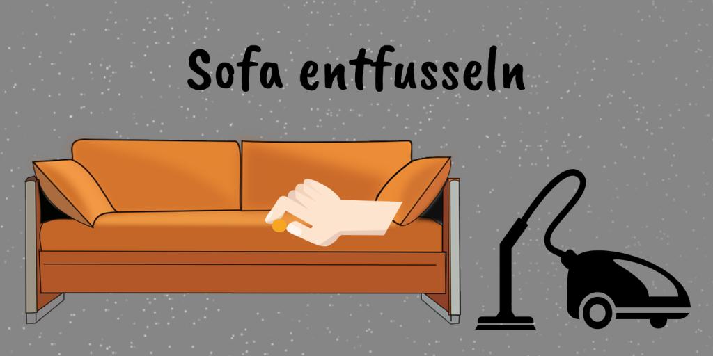 sofa entfusseln 8 tipps gegen fusseln auf der couch. Black Bedroom Furniture Sets. Home Design Ideas