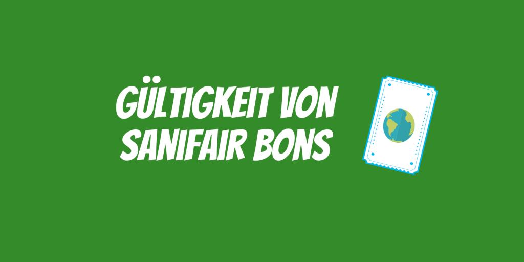Gültigkeit von Sanifair Bons - Vorschaubild
